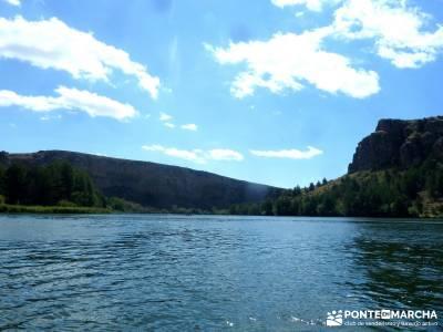 Piragüismo Hoces del Río Duratón;la pedriza madrid a tu aire puente de mayo